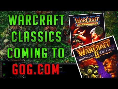 Warcraft: Orcs and Humans and Warcraft 2 soon on GOG, such