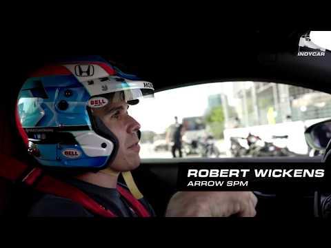 A lap in Robert Wickens' custom Acura NSX