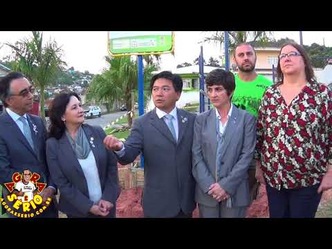 Rotary de Juquitiba recebe Governador do Rotary na Praça do Rotary