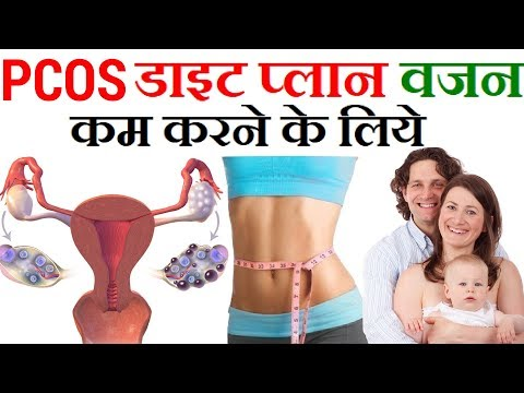 Indian Meal Plan To Lose Weight Fast | PCOD/PCOS Diet Plan for Weight Loss in Hindi