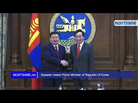 Speaker meets Prime Minister of Republic of Korea