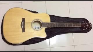 Acoustic Guitar Sparrow 411c Review 1