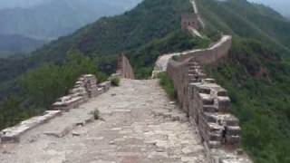 Video : China : Great Wall 长城 hike (8) - video