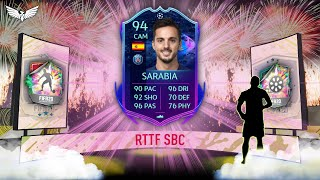 RTTF PABLO SARABIA SBC! - NEW FIFA 21 GAMEPLAY TRAILER!!! - PRE SEASON PROMO - FIFA 20 ULTIMATE TEAM