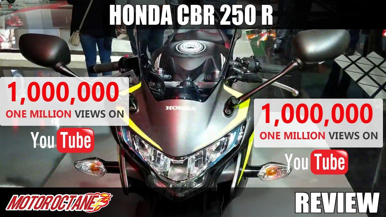 Motoroctane Youtube Video - Honda CBR 250 R Review in Hindi | Auto Expo 2018 | MotorOctane