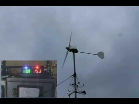 Ветрогенератор, установка на ветер