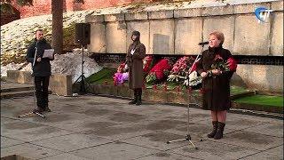 В день неизвестного солдата у мемориала «Вечный Огонь Славы» состоялся общегородской митинг