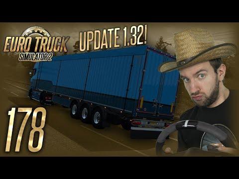 UPDATE 1.32 ANEB VLASTNĚNÍ NÁVĚSŮ! | Euro Truck Simulator 2 #178