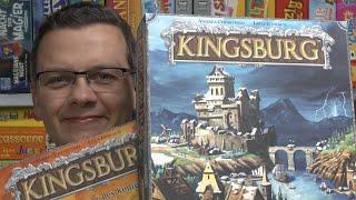 Top Spiele von Jörg Teil 3: Kingsburg (ehem. Heidelberger Spieleverlag) - ab 10 Jahre