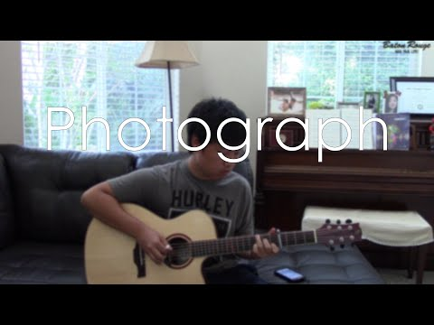 (Ed Sheeran) Photograph - Fingerstyle Guitar Cover