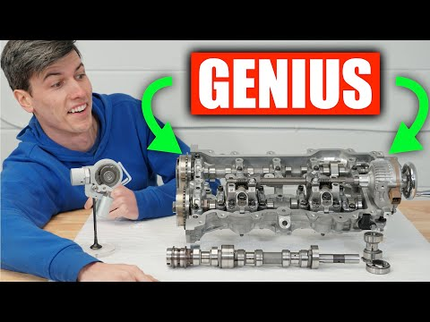 The World's First CVVD Engine - Genius!
