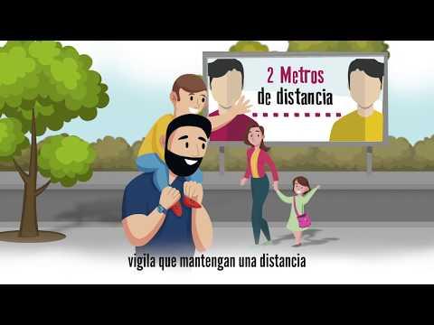 Guía para la salida de menores de 14 años
