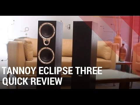 Tannoy Eclipse Three Review - Floorstanding Home Theater Speakers India