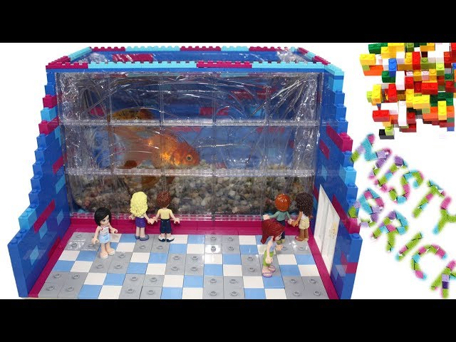 Lego Friends - Golden Fish World Aquarium by Misty Brick.