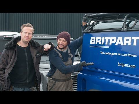 Tim & Fuzz from Car SOS take a look around Britpart