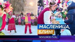 Воспитанники 83-го детсада с плясками и блинами проводили зиму