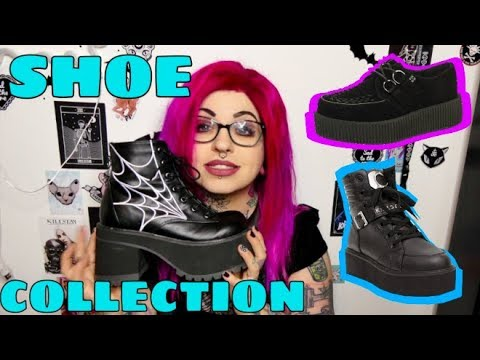 Platform Goth Boots & Shoes Collection // Emily Boo