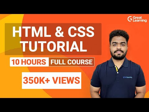 HTML and CSS Full Course | Learn HTML & CSS in 10 Hours ...