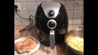 XL 4.5L Smart Fryer von Action - Test 02 mit Hähnchenschenkel & Kartoffelschnitt