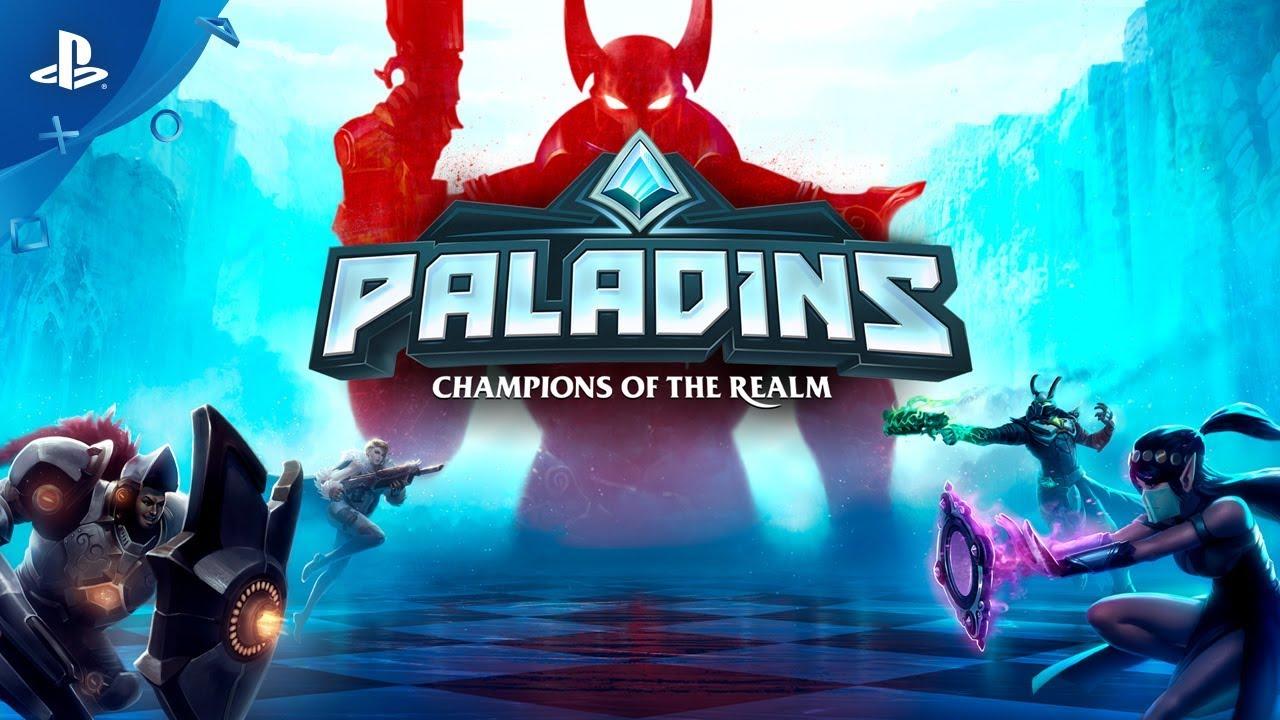 Fantasy Team-Based Shooter Paladins Celebrates Official