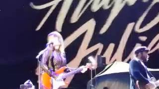 Angus And Julia Stone Live Domain Stadium Perth WA 2015 (Death Defying Acts)
