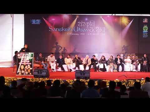 Wasim Barelvi at Pragati Maidan Book Fair | Sanskriti Utsav | Amazing shayari