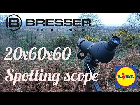 Bresser 20x60x60 Spotting scope