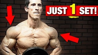 Shoulder Workout in ONE Set (137 INTENSE REPS!!)