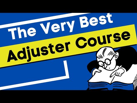 #83| Insurance Adjuster Classes & the best all-lines adjuster course ...