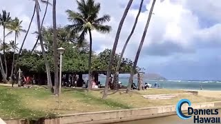 preview picture of video 'Waialaie Beach Park bei Kahala - Ruhiger Strand, wenig Wellen'