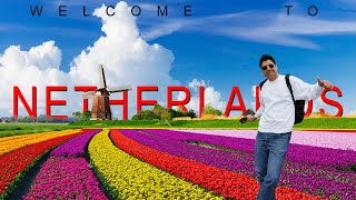 Welcome to Netherlands | Rs3200 Ki Biryani in Amsterdam | Europe Trip EP-12