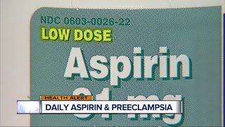 Can an aspirin a day keep a pregnancy complication away?