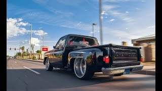 86 C10 on 24x12 Reverse Lip Intro Billets!!!!