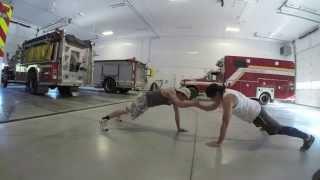 【体幹強化、バランス力向上もできる!】2人組プッシュアップ!