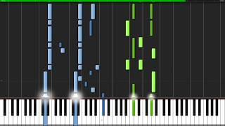 Memory - Undertale [Piano Duet] (Synthesia) // Anifuse
