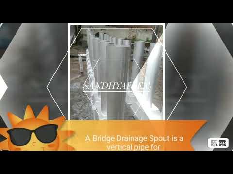 Sandhyaflex Bridge Drainage Spout L210 x W210 x D100 x LG900 Mm