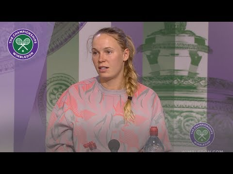 Caroline Wozniacki Wimbledon 2019 Third Round Press Conference