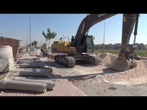 Viranşehir'in Alt Yapı Sorunu Büyükşehir ile Çözülüyor (VİDEO)