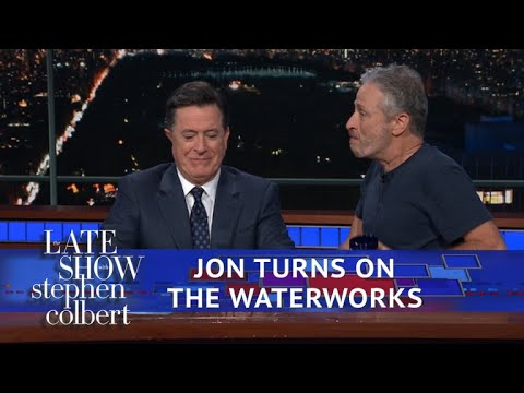 Jon Stewart Reveals Stephen's Prize In 'Night Of Too Many Stars'