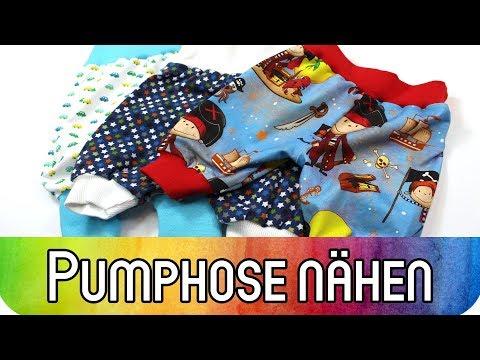 """Nähen lernen: Pumphose für Babys und Kleinkinder nähen   Nähen für Anfänger   """"MAXI"""" von Zierstoff"""