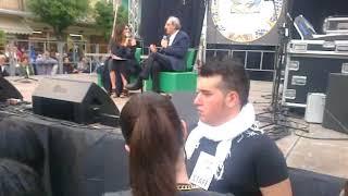 Franco Battiato a Capo d'Orlando Little Sicily - riprese Nino Cannistraci