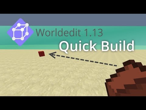 Build easier and quicker with Vanilla Worldedit 1 13 Quick Build