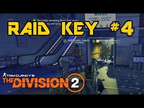 DIVISION 2 RAID KEY LOCATION #4 (Second Boss Raid Key Location)
