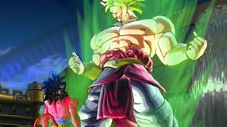 BROLY TRAINS WITH A SSJ4 - Dragon Ball Xenoverse 2 Part 135   Pungence