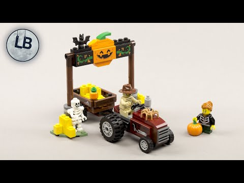 Vidéo LEGO Saisonnier 40423 : Promenade en chariot d'Halloween