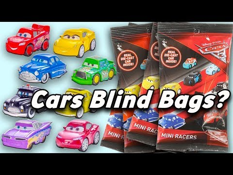Disney Pixar Cars 3 Micro Racers Blind Bag