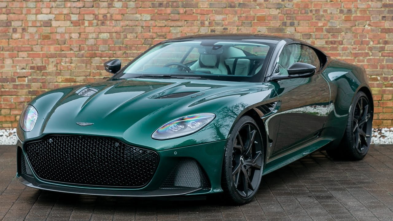 2018 Used Aston Martin Dbs Superleggera V12 Buckinghamshire Green