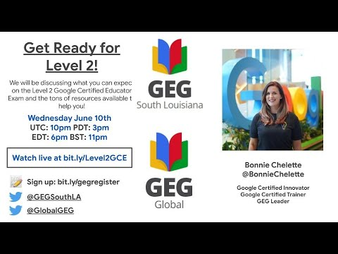 GCE Level 2 Certification - What you need to know! - YouTube