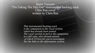 Justin Vancura - I'm Taking The Day Out instrumental backing track / Chris Rea cover / acoustic