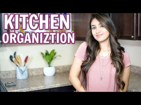 Organize My Kitchen With Me! 2017